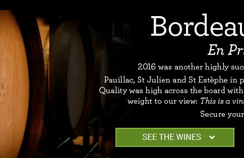 Bordeaux 2016 En Primeur. 2016 was another highly successful vintage in Bordeaux. Pauillac, St Julien and St Estèphe in particular performed very well indeed. Quality was high across the board with many outstanding critic scores adding weight to our view: This is a vintage worthy of serious attention. Secure your share now.