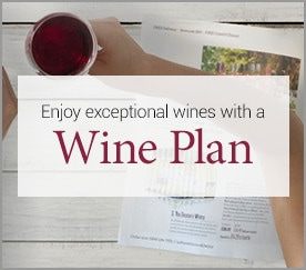 Enjoy exception wines with a Wine Plan