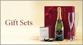 Gift Sets. Champagne, truffles and Dartington flutes Gift Set