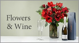 Flowers & Wine - You just know they are going to love it