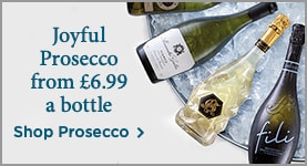 Joyful Prosecco from £6.99 a bottle - Shop Prosecco >