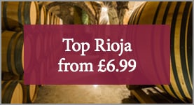 Top Rioja from £6.99