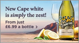 New Cape white is simply the zest! - From just £6.99 a bottle