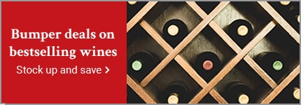 Bumper deals on bestselling wines stock up and save >