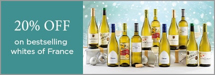 25% OFF on bestselling whites of France