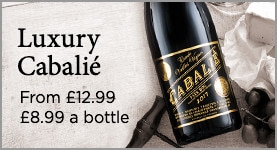 Luxury Cabalié. JUST £12.99 (was £8.99) a bottle