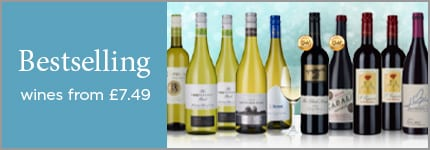 Bestselling wines from £7.49