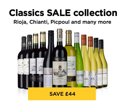 Classics SALE collection Rioja, Chianti, Picpoul and many more - SAVE £44