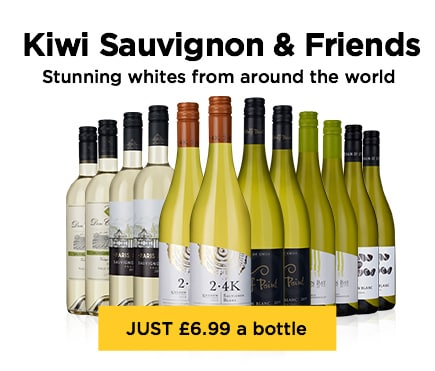 Kiwi Sauvignon & Friends Stunning whites from around the world - JUST £6.99 a bottle