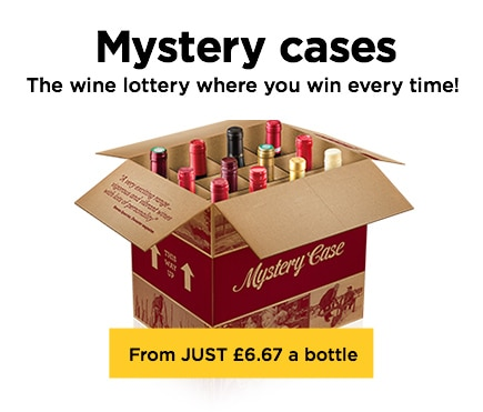 Mystery cases The wine where you win every time!. From JUST £6.67 a bottle