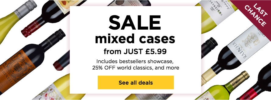 SALE mixed cases from JUST £5.99 Includes bestsellers showcase, 25% OFF world classics, and more