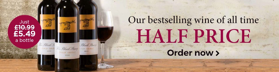 Our bestselling wine of all time - HALF PRICE - Just £5.49 a bottle