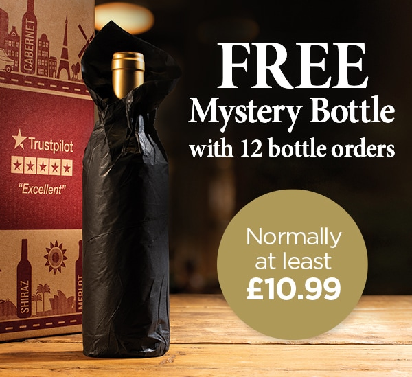 FREE Mystery Bottle with 12 bottle orders - Normally at least £10.99