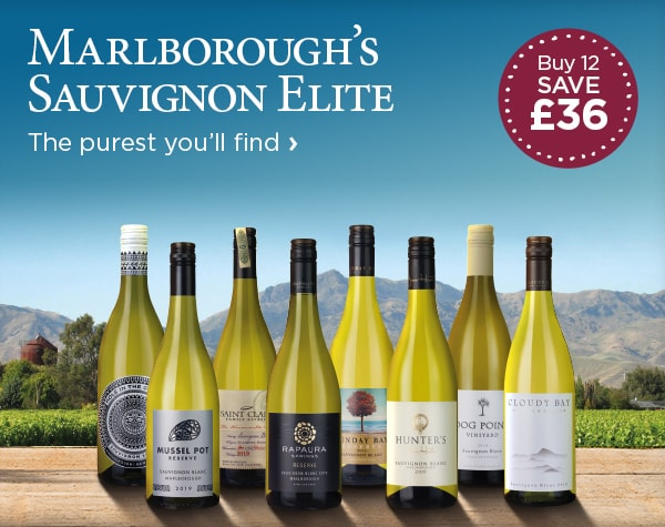 Marlborough's Sauvignon Elite - The purest you'll find - Buy 12 SAVE £36