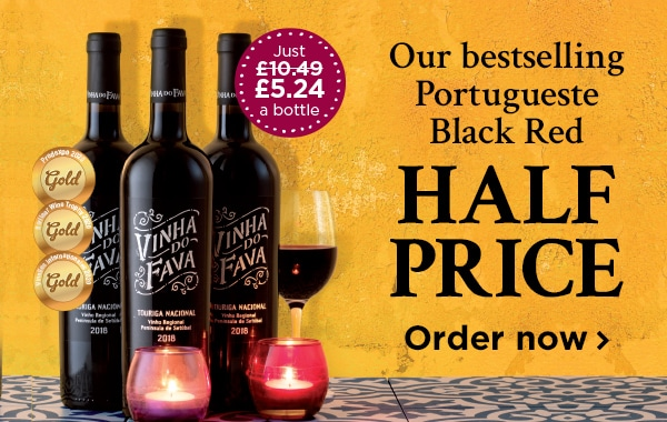 Our bestselling Portuguese Black Red HALF PRICE Order now