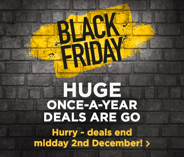 HUGE once-a-year deals are go Everything must end midday 2nd December!