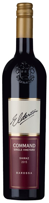 Elderton Single Vineyard Command Shiraz 2015
