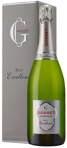 Champagne Gosset Brut Excellence (in gift box)
