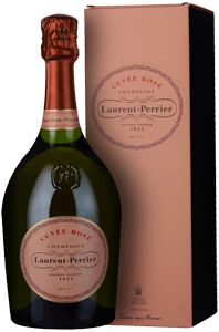 Champagne Laurent-Perrier Cuvée Rosé Brut (in gift box)