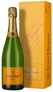 Champagne Veuve Clicquot Yellow Label Brut (in gift box)