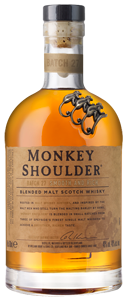 Monkey Shoulder Blended Malt Scotch Whisky (70cl)