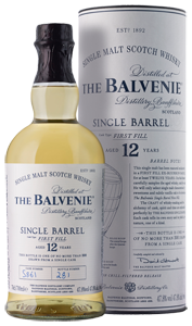 Balvenie Single Barrel First Fill Single Malt Scotch Whisky (70cl)