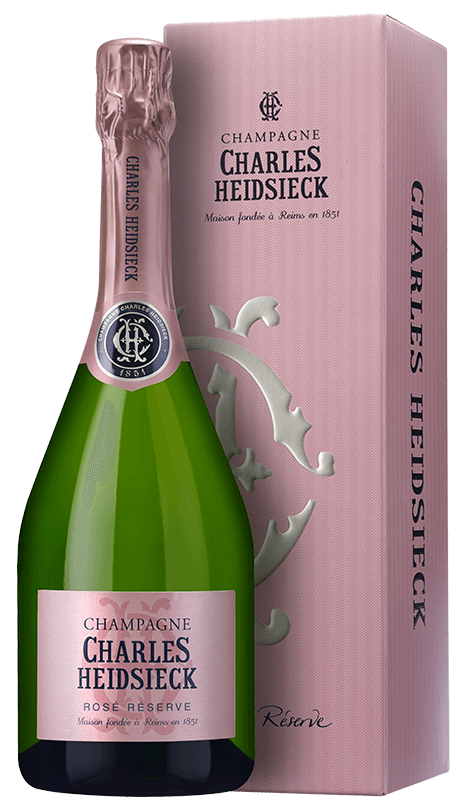 Champagne Charles Heidsieck Rosé Réserve (in gift box) NV