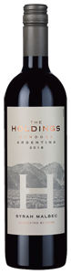 The Holdings Syrah Malbec 2018