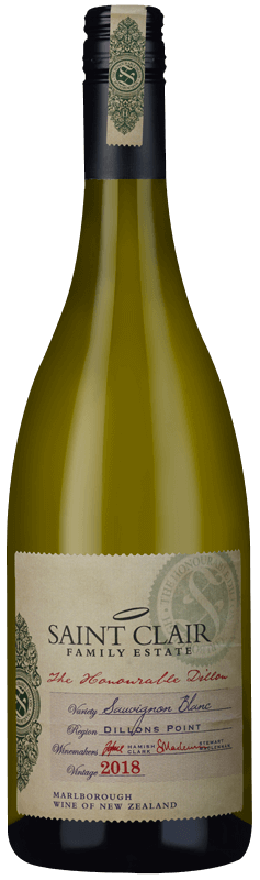 Saint Clair The Honourable Dillon Sauvignon Blanc 2018