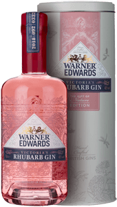 Warner Edwards Victoria's Rhubarb Gin (70cl in tin box)