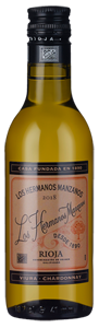 Los Hermanos Manzanos Blanco Barrica (187ml) 2018