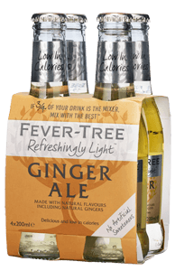 Fever-Tree Refreshingly Light Ginger Ale (4x20cl)