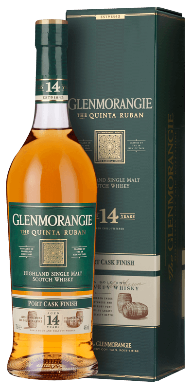 Glenmorangie Quinta Ruban 14-year-old (70cl in gift box) NV
