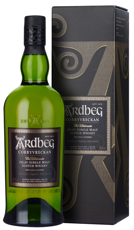 Ardbeg Corryvreckan Single Malt Scotch Whisky (70cl in gift box) NV