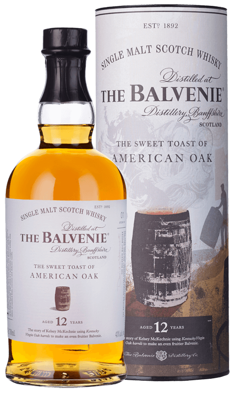 Balvenie Sweet Toast American Oak 12-Year-Old Single Malt Scotch Whisky (70cl) NV