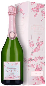 Champagne Deutz Brut Rosé Sakura Edition (in gift box)