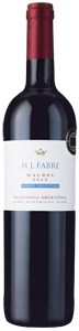 HJ Fabre Barrel Selection Malbec 2015