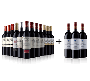Gold Medal Bordeaux Collection + 3 Chateau Ramage La Batisse