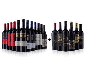 Ultimate Black Reds - Black Reds (12 btls) + Luxury Black Reds Six