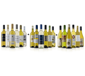 Sauvignon(6) Pinot Grigio(6) and Chardonnay(6) 18 bottle case