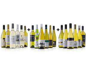 Chardonnay(6) Sauvignon Blanc(6) and Riesling(6) 18 bottle case