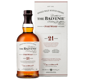 Balvenie 21-year-old Portwood Single Malt Scotch Whisky Gift NV