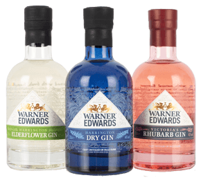 Warner Edwards Harrington Best Gins 3x20cl Gift