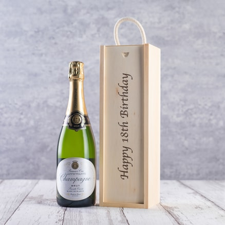 Happy 18th Birthday Box Champagne Gift Product Details The Sunday Times Wine Club