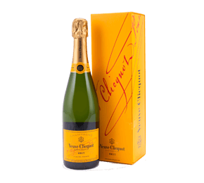 Veuve Clicquot Yellow Label Brut NV with Gift Box