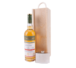 First Cask Benrinnes 12 Year Whisky with Hip Flask Gift
