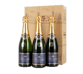 Three Delmotte Champagnes Gift NV