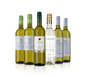 Italian Pinot Grigio Sale Mix Six
