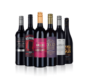 Australian Shiraz Six - 20 percent off
