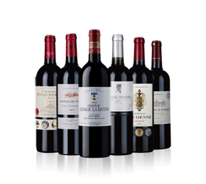 Perfectly Matured Bordeaux Six